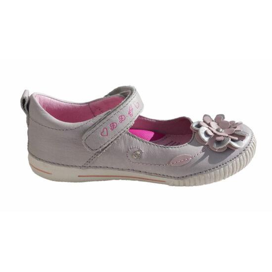 D.D.Step virágos-strasszköves, tavaszi lányka cipő