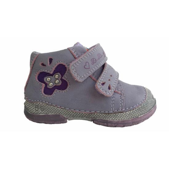 D.D.Step lány cipő, lila-pillangós