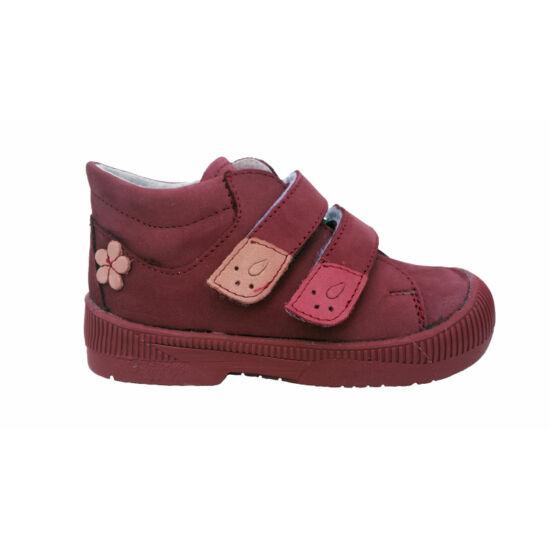 Maus szupinált lány cipő, virággal