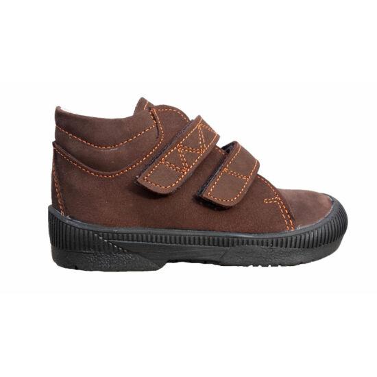 Maus szupinált  cipő,barna-naracs