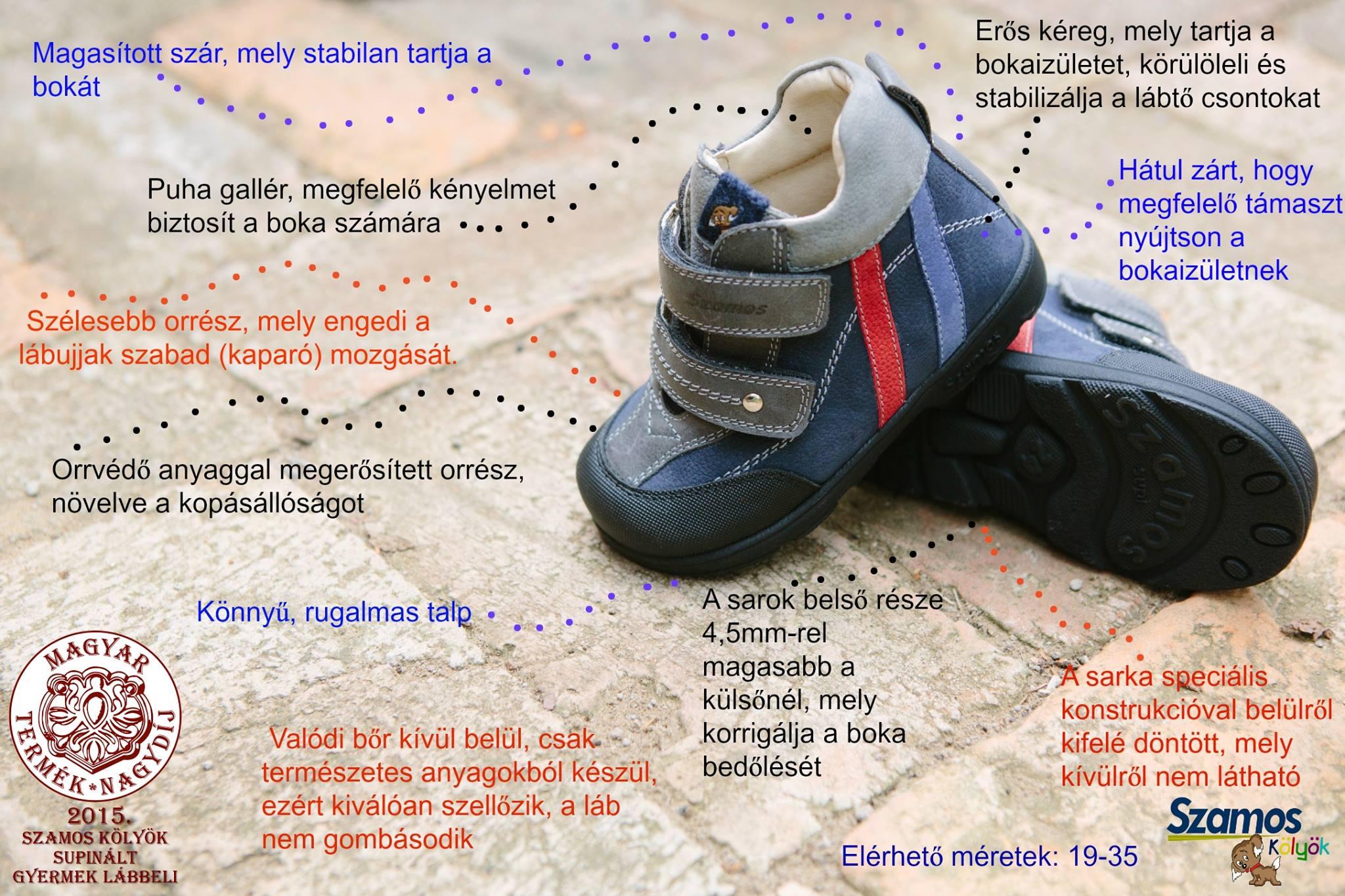 Szamos supinált cipő mikor hasznos?