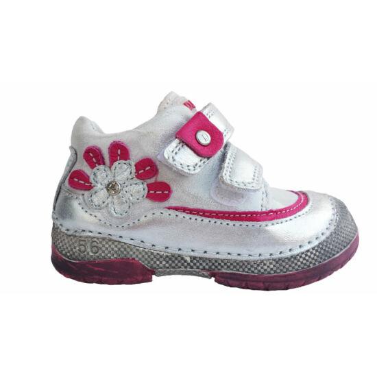 D.D.Step lány cipő, silver ragyogás