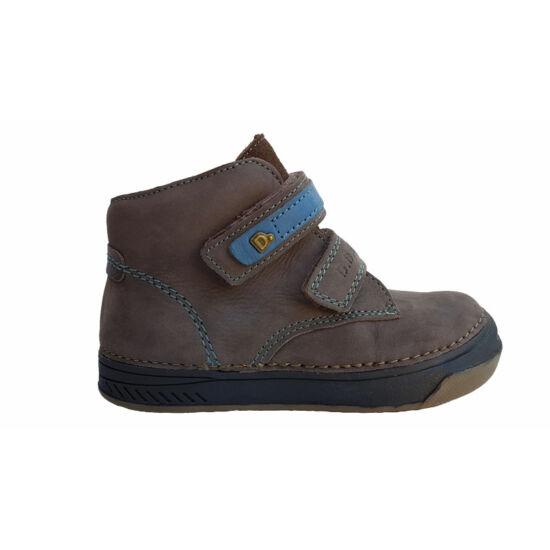 DD Step gyerekcipő,barna-kék