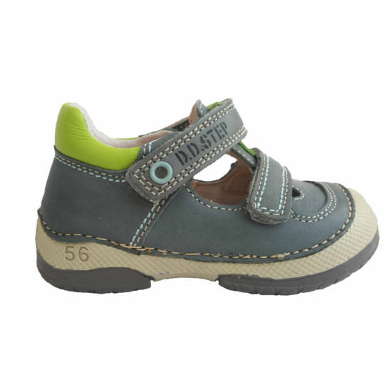 D.D.Step tavaszi gyerekcipő, szürke-zöld